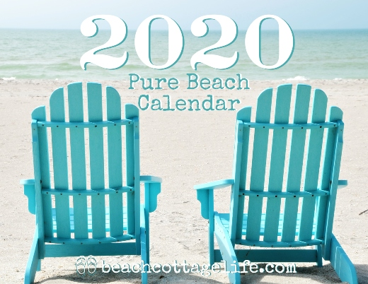 Florida Beach Wall Calendar