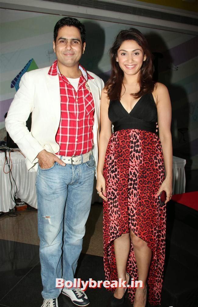 Aman Verma and Manjari Fadnis, Manjari Phadnis at Carswipe Website Launch