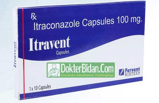 Itraconazole Obat Infeksi Jamur - Dosis Aturan Pakai dan Efek Sampingnya Untuk Kesehatan Anak Anak Dan Dewasa