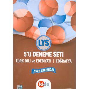 Kida LYS Türk Dili ve Edebiyatı - Coğrafya 5li Deneme Seti (2017)