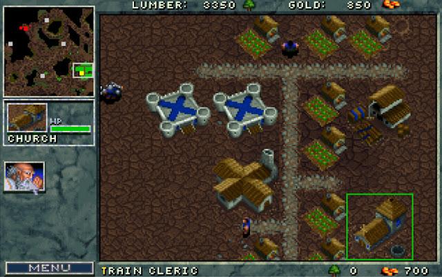 Warcraft 1 Clerics Screenshot