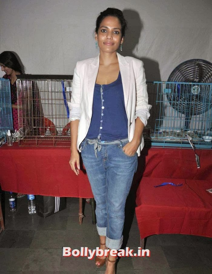 Priyanka Bose, Sonali Bendre, Kalki Koechlin at Pet Adoption 2013