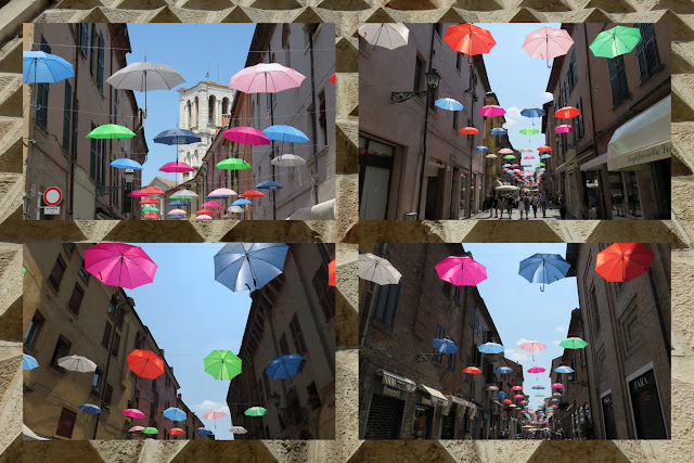 Day Trip to Ferrara - Floating Umbrellas