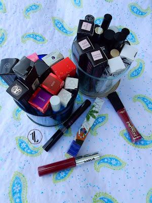 Liquid lipstick stash - www.modenmakeup.com
