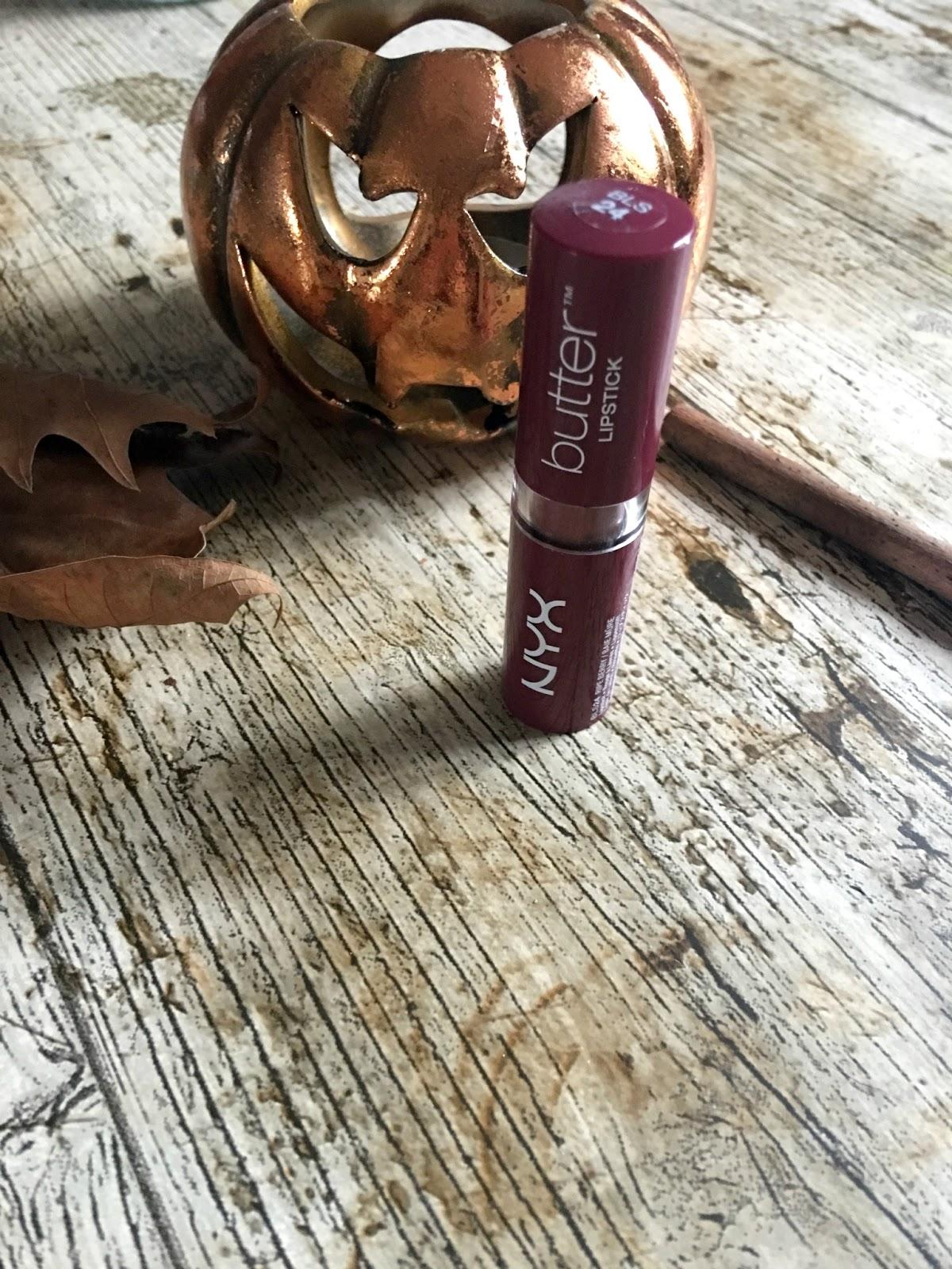 NYX butter lipstick ripe berry