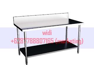 Working Table With Undershelf