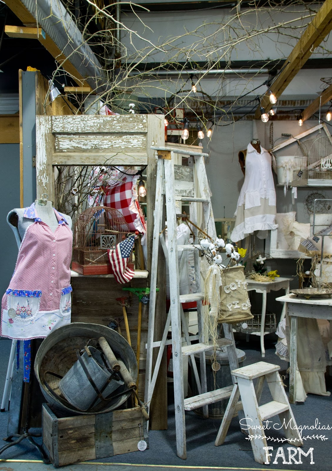 Sweet Magnolias Farm Our New Shop Space Now Open In Ozark Mo At Wiring Old Farmhouse And For Those Locals That Happen On Blog Well Come Down See Us Camp Flea Antique Mall Vintage Marketplace