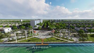 Light Square là quảng trường ánh sáng bên sông đầu tiên tại Đà Nẵng.