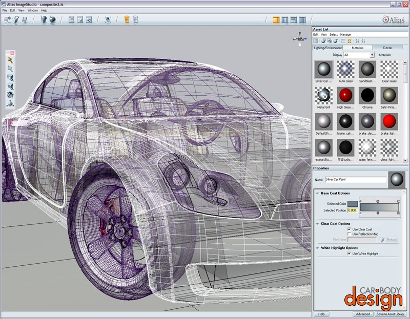 Automotive Engineering Car Design Software