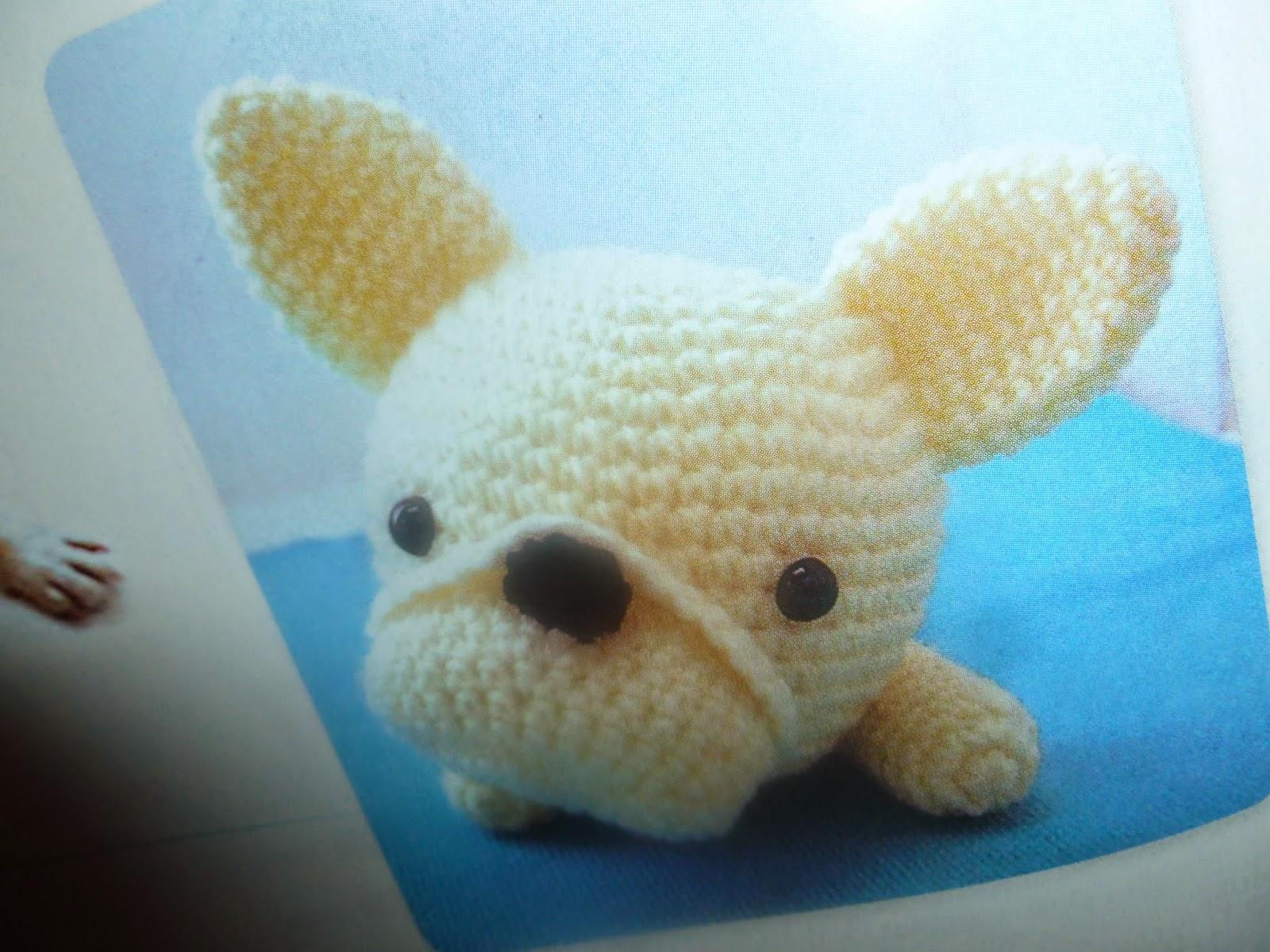 Amigurumi Uncinetto Schemi Gratis : Lavoretti creativi dall uncinetto alla pittura french bulldog