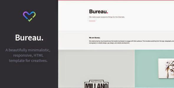 Bureau - Responsive Portfolio HTML Template