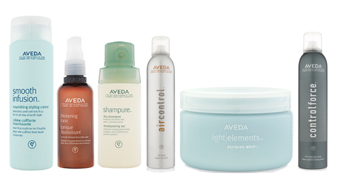 best aveda hair products