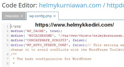 Cara menghapus plugin wp super cache