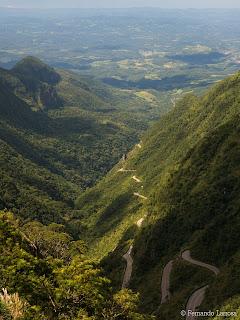 serra do rio do rastro en auto a brasil fernando