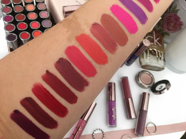 makeup geek, plush matte, liquid lipstick, rose gold
