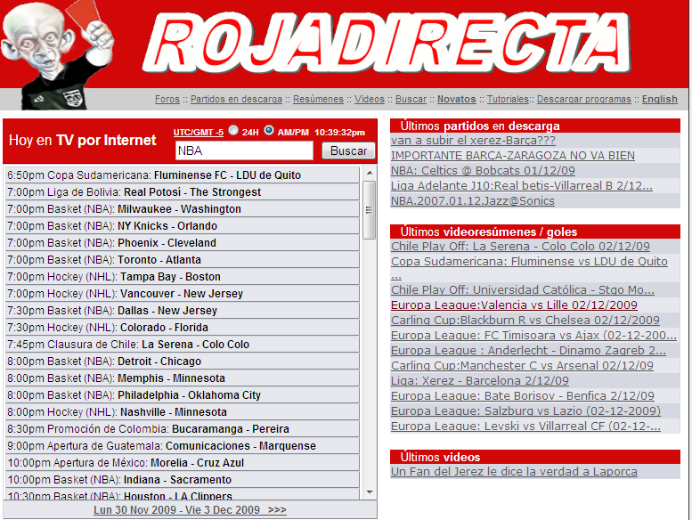 Roja Directa Free Online Streaming Tv Directory 4u