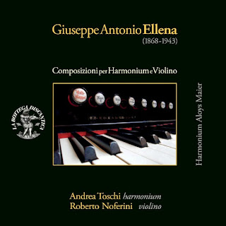 Giuseppe Antonio Ellena: Composizioni per harmonium e violino