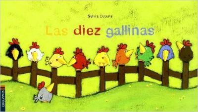 mejores cuentos para niños de 2 a 3 años de edad, las diez gallinas luciernaga edelvives