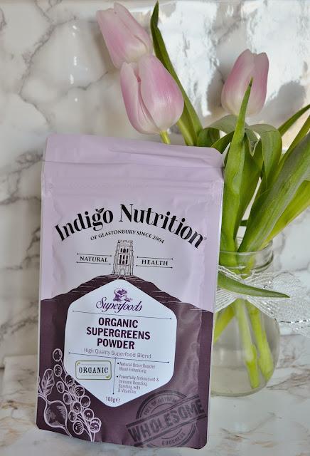 Indigo Nutrition Organic Supergreens Powder
