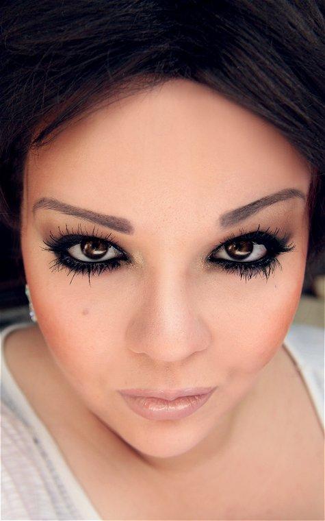 Makeup your Jangsara: Tutorial: Kim Kardashian smokey eye