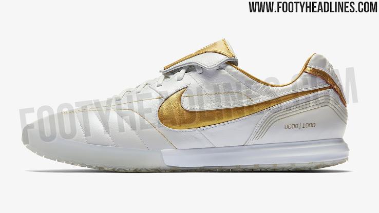 size 40 6e14a 4c146 White / Gold Nike Legend R10 Ronaldinho 2018 Boots Released ...