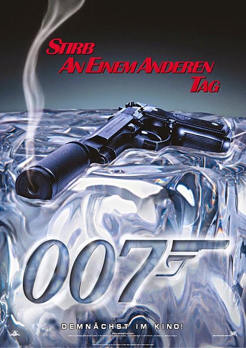 Die Another Day Teaser Poster 'Smoking Gun'