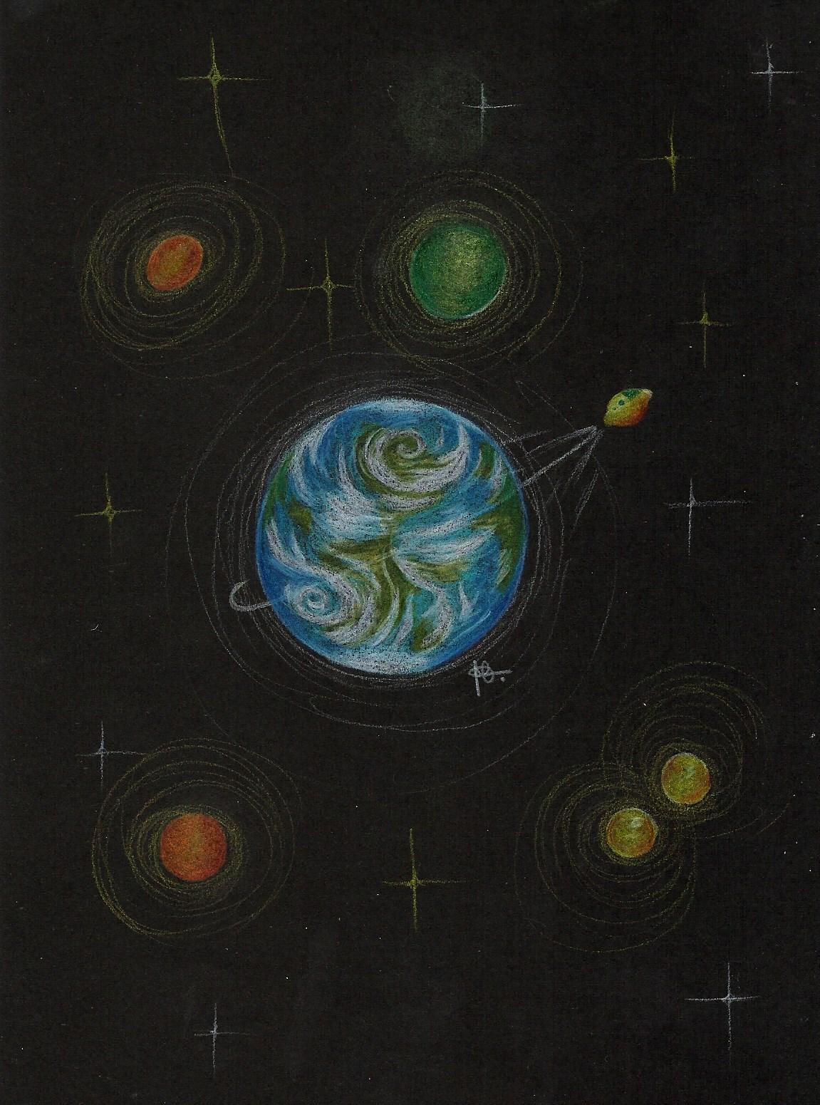 drawing universe
