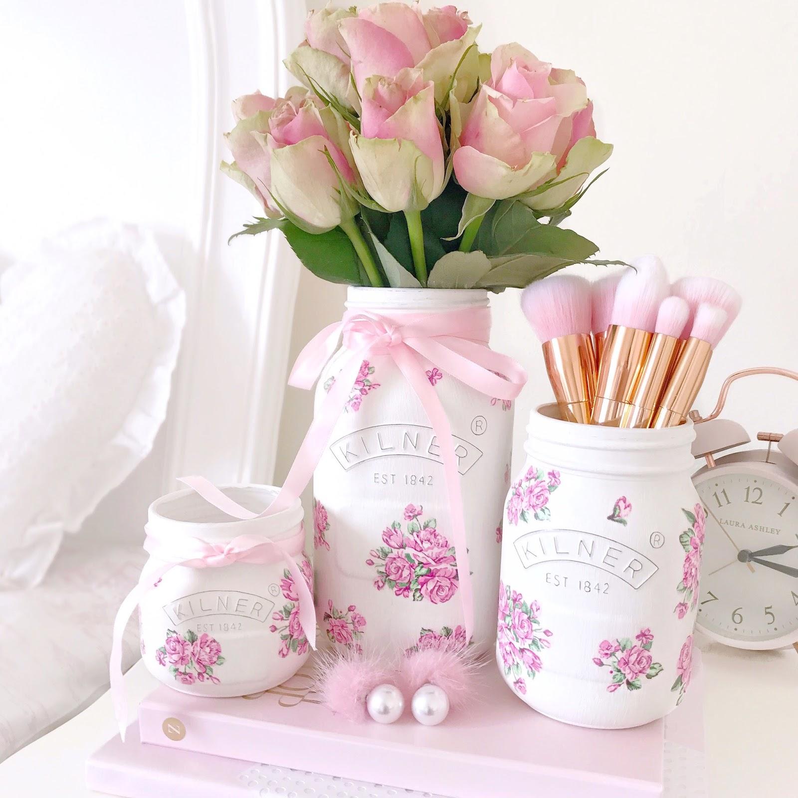 Rosebud Kilner Jars | Love, Catherine