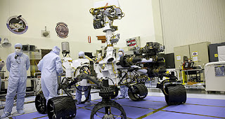 NASA next Mars rover: Curiosity is ready to roll-out for Mars mission