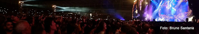 Show dos Rolling Stones no Maracanã, Rio de Janeiro, em 2016