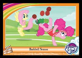 My Little Pony Buckball Season Series 5 Trading Card