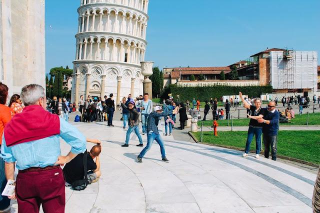 Excursão à Pisa na Itália