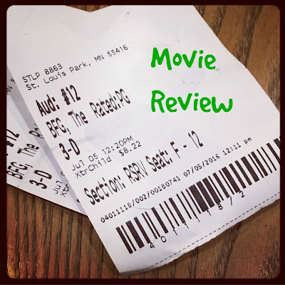 the BFG, review, movies