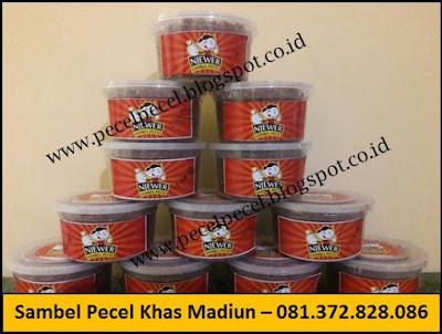 supplier bumbu sambel pecel khas madiun
