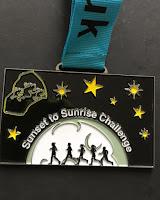 2015 Sunset to Sunrise Medal