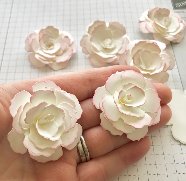 Scrimpingmommy how to make beautiful paper flowers today i thought i would share how to make paper flowers they are so pretty and fairly easy to make once you get going i find they look as good as shop mightylinksfo