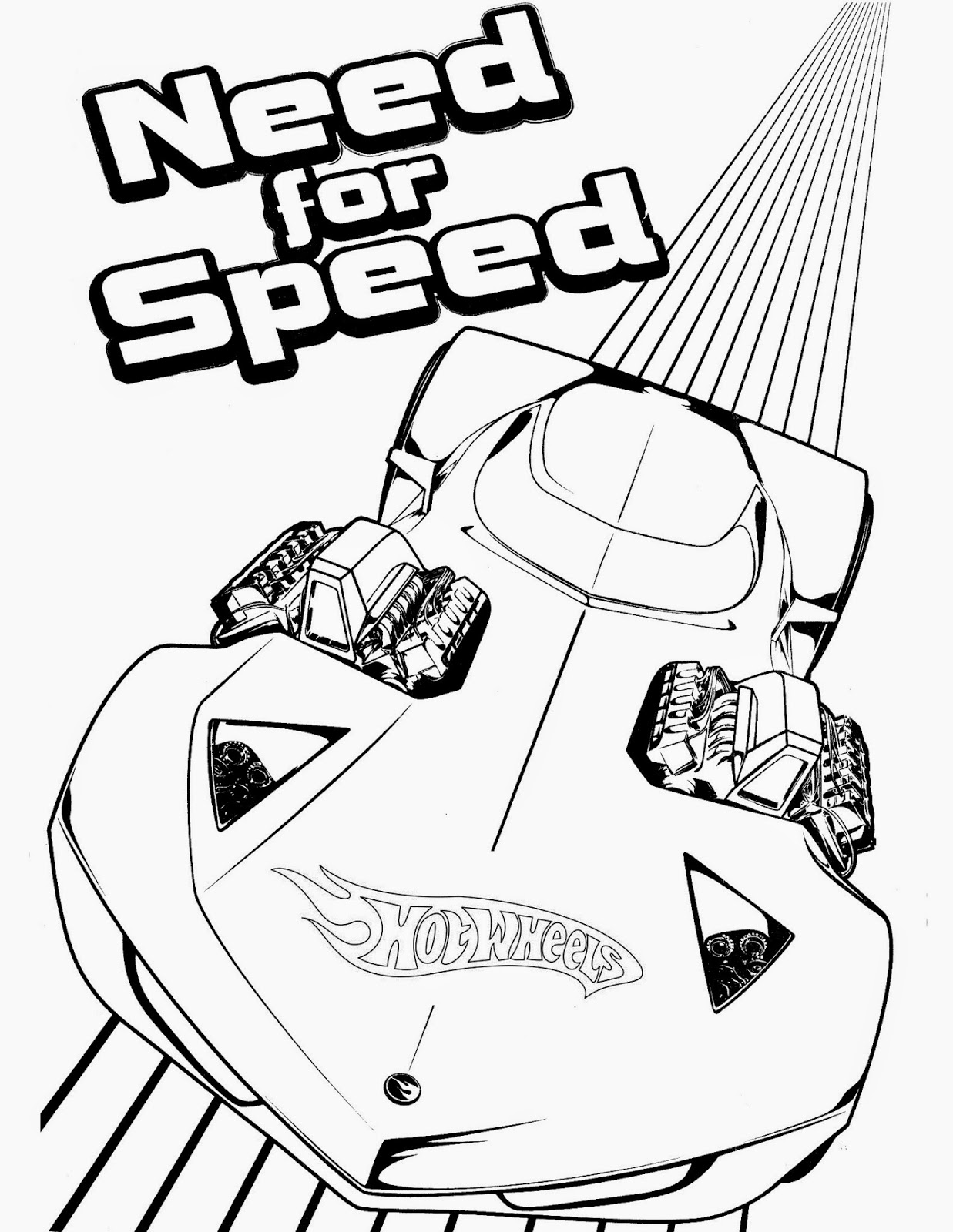 Hot Wheels Coloring Pages 78