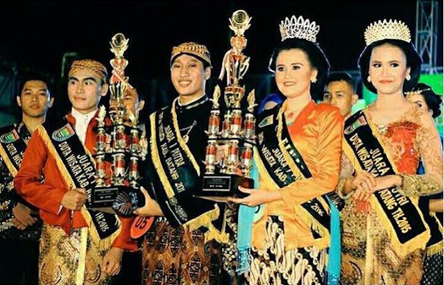 Selamat Untuk Deby dan Raras, Duta Wisata Kabupaten Batang tahun 2016