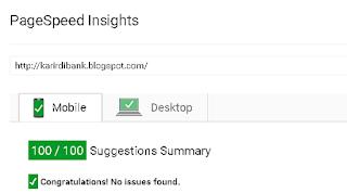 Gunakan template blogger yang Fast loading
