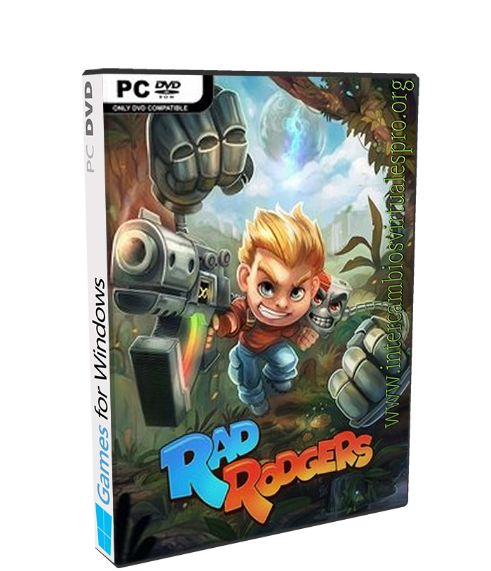 Rad Rodgers World One poster box cover