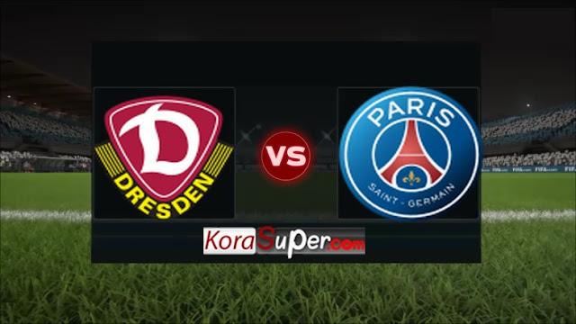 مشاهدة فريق باريس سان جيرمان ضد دينامو دريسدين / paris saint germain vs dynamo dresden 16-07-2019