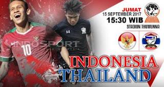 Prediksi Indonesia vs Thailand - Semifinal Piala AFF U18 2017 Myanmar