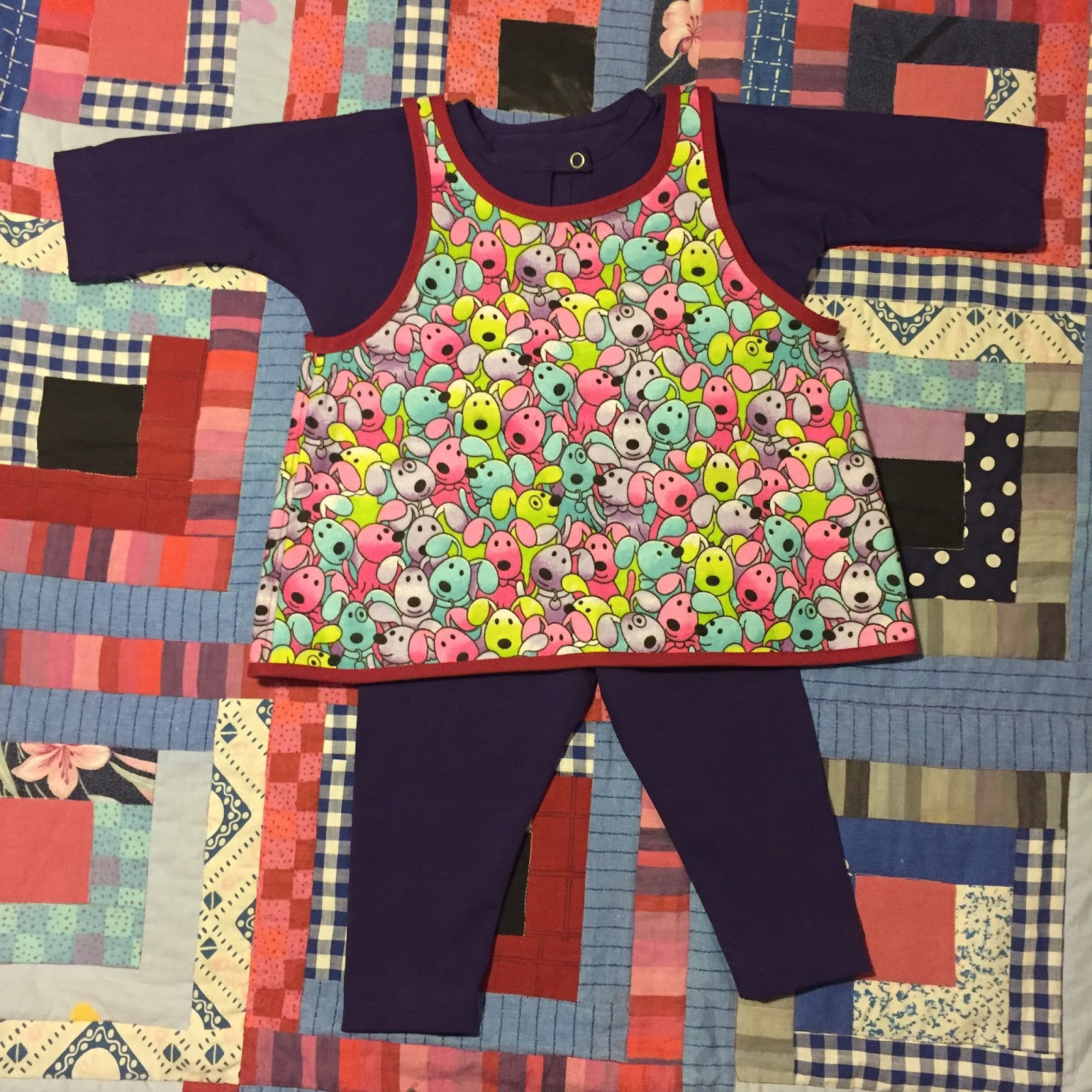Rosa Tulpan  Praktiska småbarnskläder 4e4c8fd48efbf