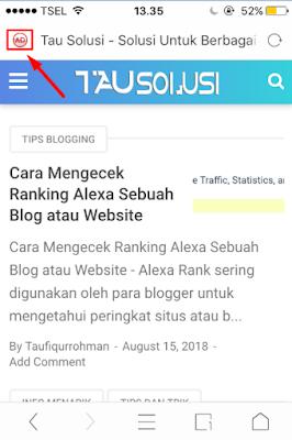 Tutorial Mengatasi Gambar Blog/Situs yang Tidak Muncul di UC Browser 1