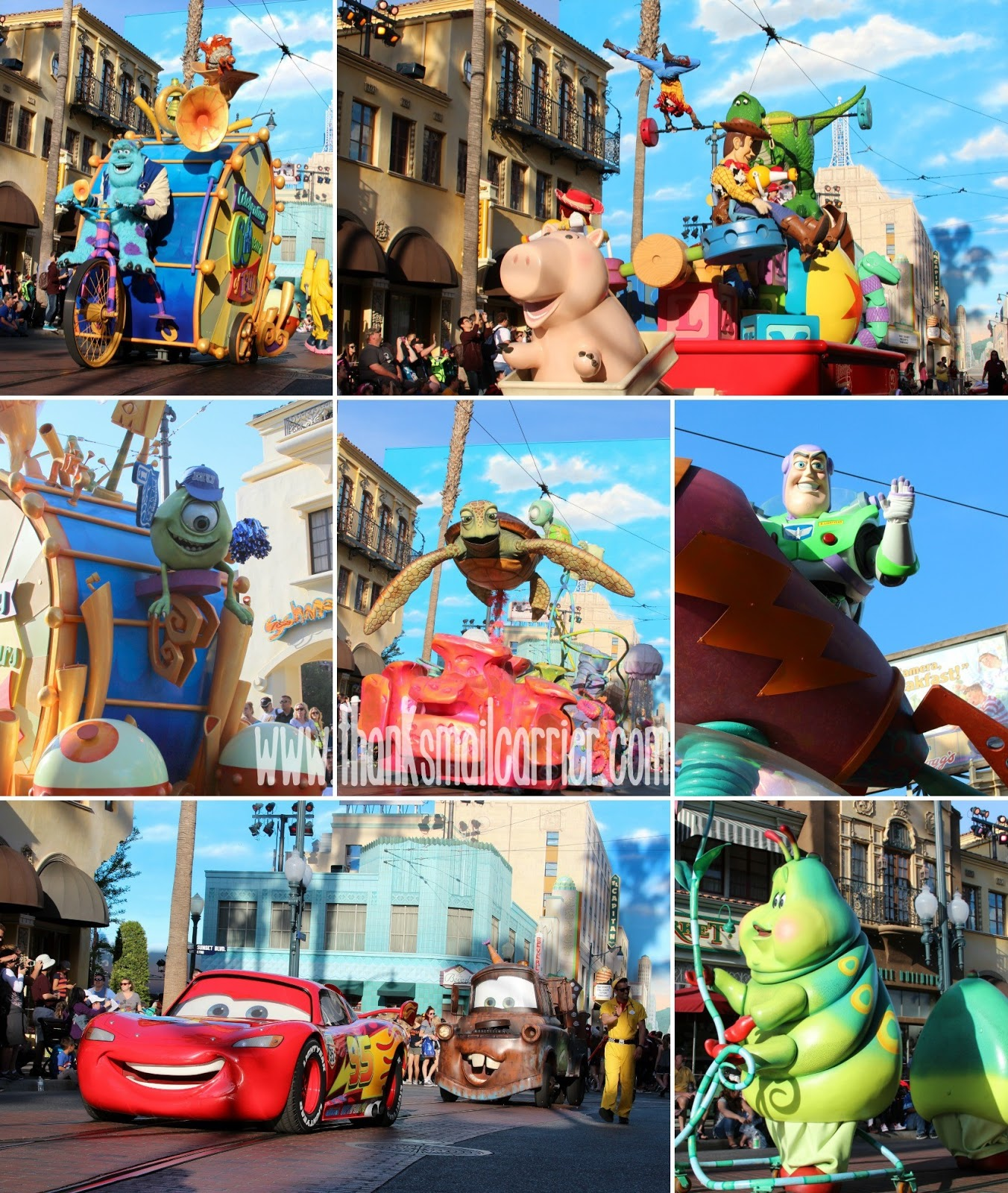 Disney Pixar Play Parade