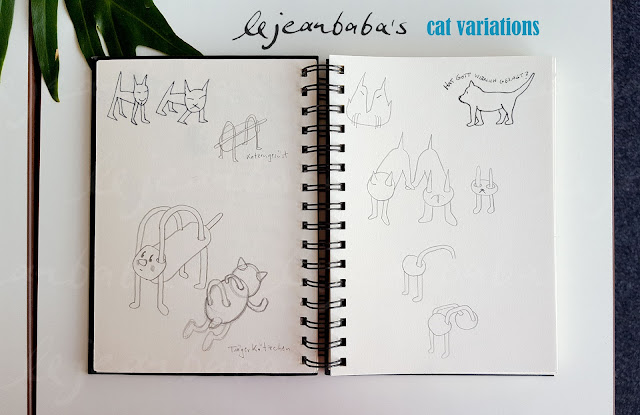 Kreativnotizen: cat variations