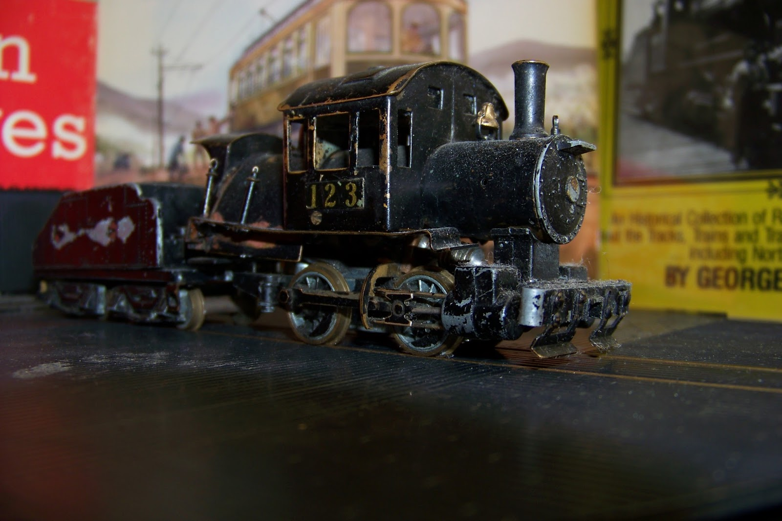 Niko Bautistas Model Railroad Roundhouse Two Circuits Railroader Magazine Railroading My New Old Mantua Yard Goat Heres To The Pioneer Boomer Railroaders