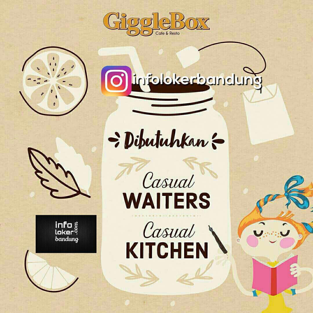 Lowongan Kerja Giggle Box Cafe & Resto Bandung  Mei 2017