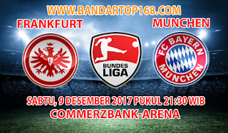 Prediksi Frankfurt vs Bayern Munchen 9 Desember 2017