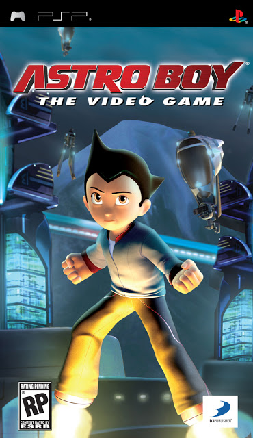 Astro Boy: The Video Game PSP ISO (E)